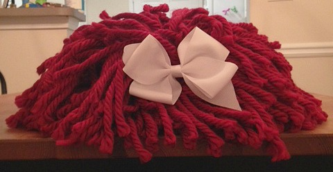 Raggedy Ann Wig with a bow