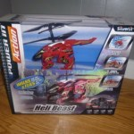The Heli Beast is a walking, flying, remote controlled helicopter for kids!
