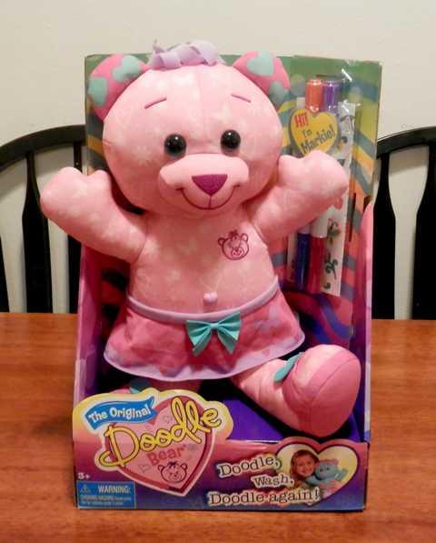 Doodle bear: a creative way to play.