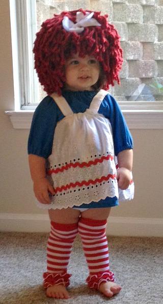 Raggedy Ann Halloween Costume  sc 1 st  I Love My Kids Blog & Yumbaby Raggedy Ann Wig Review