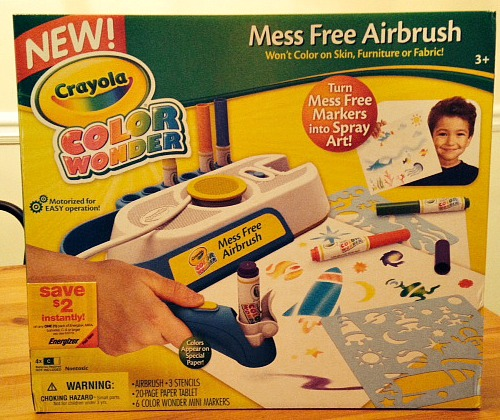 Crayola Mess Free Airbrush