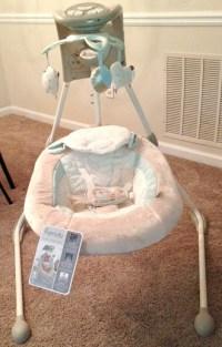 Ingenuity InLighten Cradling Swing is a Great Way to Keep ...