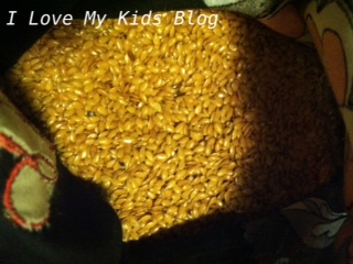 DIY microwaveable flax bag 10
