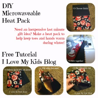 How to Make a DIY Microwavable Heat Pack