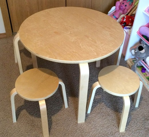 A Perfect Playspace with GuideCraft Nordic Table and Chairs Set