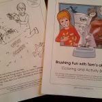 "Free Personalized ""Brushing Fun"" coloring and activity book #GoodBedtime"