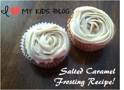 delicious Salted Caramel frosting recipe
