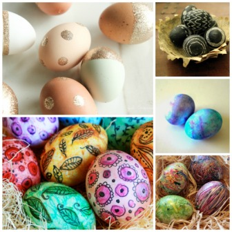 Creative easter eggs blog picture