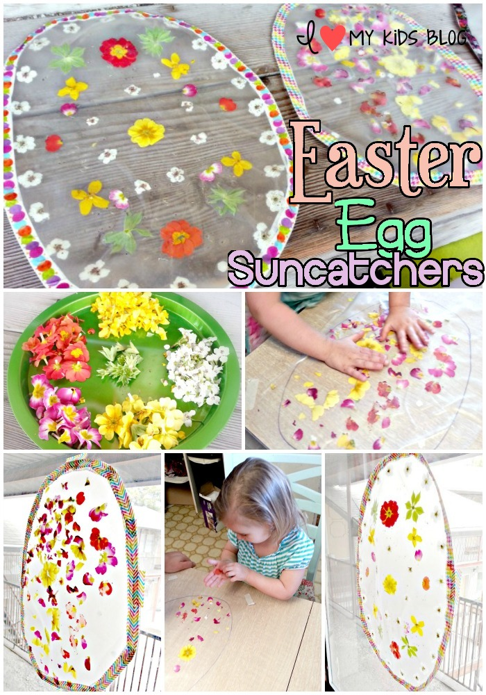 Easter Egg Suncatcher DIY