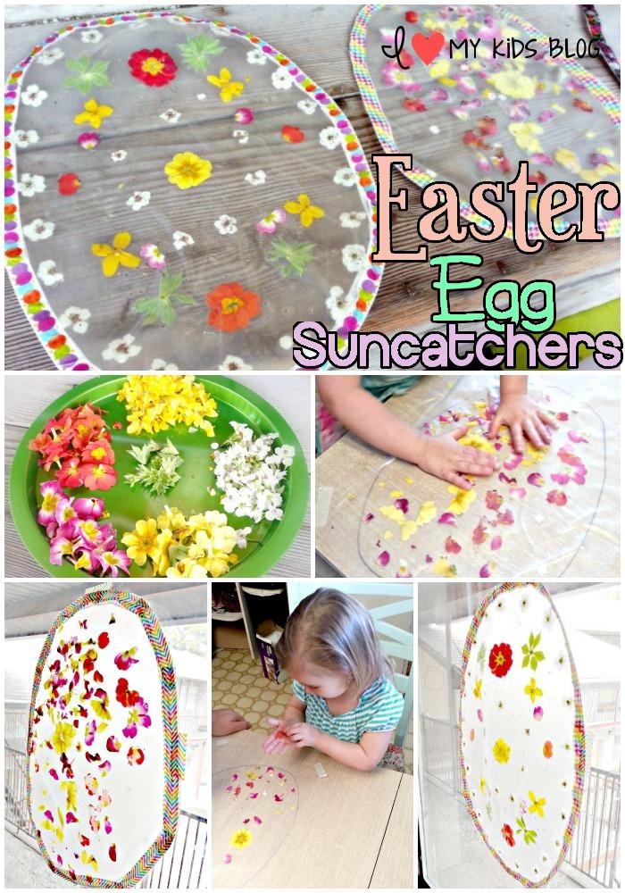 Easter Egg Suncatcher DIY