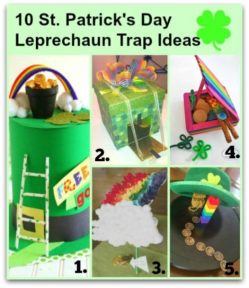 Lprechaun Traps Title Page