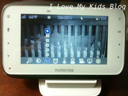 Motorolla video baby monitor MBP854 5 lullabies feature