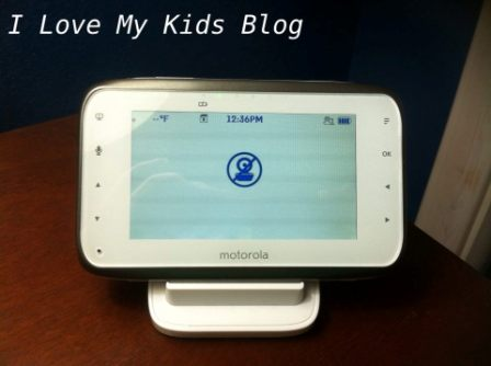 Motorolla video baby monitor MBP854  no camera sign