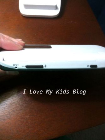 Motorolla video baby monitor MBP854  parent unit top