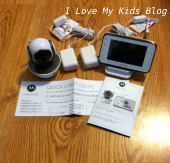 Motorolla video baby monitor MBP854  parts