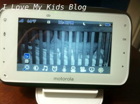Motorolla video baby monitor MBP854  zoom feature