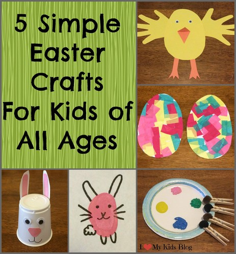 5 Simple Fun Easter Crafts For Children