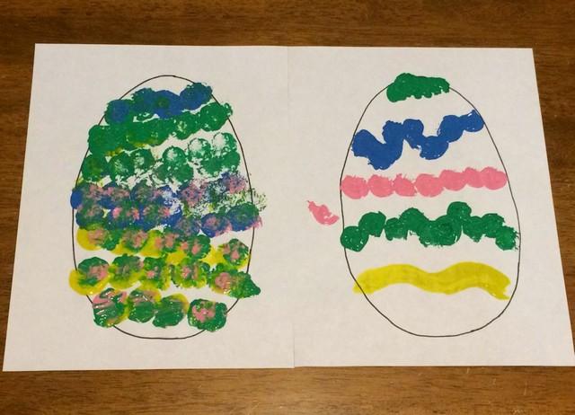 pom pom Easter egg