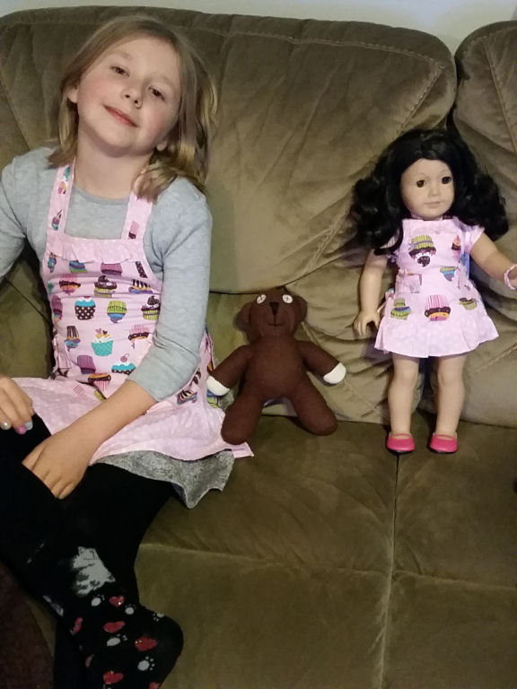 dollie and me aprons