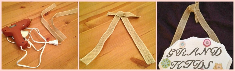 Twine for Hanging the Plaque