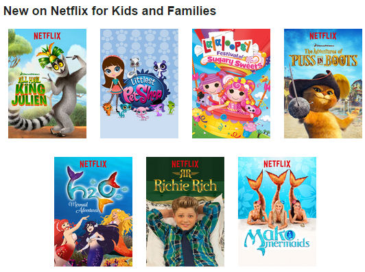 New on Netflix for Kids and Families