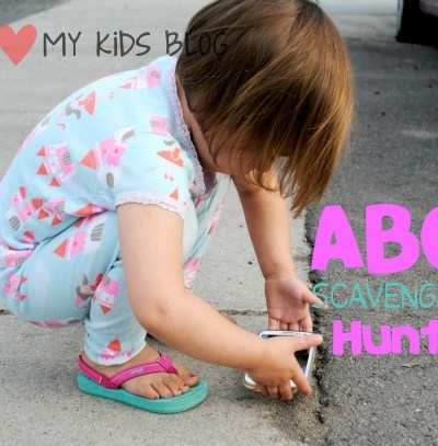 ABC Photography Scavenger Hunt- great indoors or out! Kid friendly & FREE Printables included!