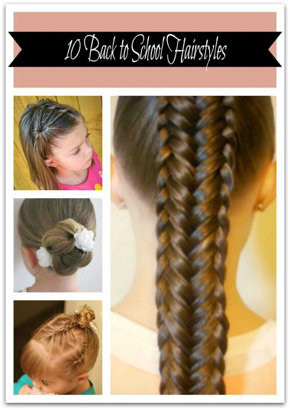 10 Back to School Hairstyles