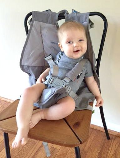 FlyeBaby as a HighChair