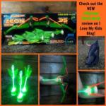 Get the kids off the couch with the ZING Firetek Zeon Bow and light up arrows