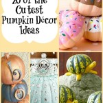 20 of the Cutest Pumpkin Décor Ideas