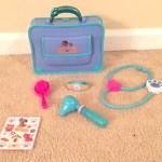 I Feel Better, So Much Better – Doc McStuffins Pet Vet Doctor's Bag Set