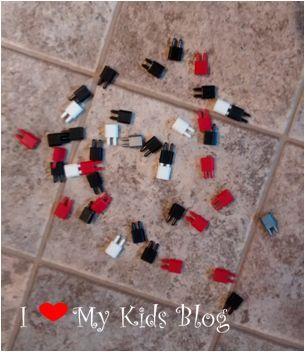 Pinblock onthe floor