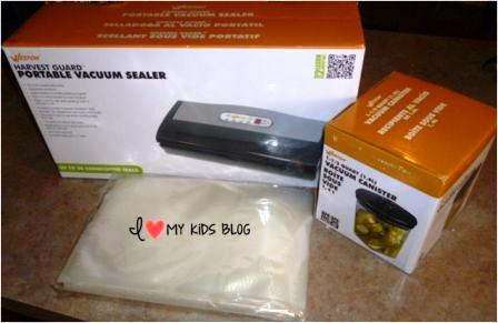 Portable Vacuum Sealer Weston Set