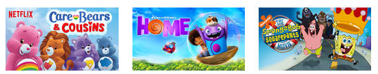 december 2015 New on Netflix for Kids and Families