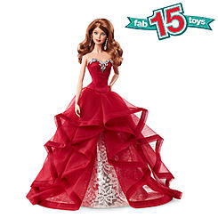 2015 exclusive holiday barbie