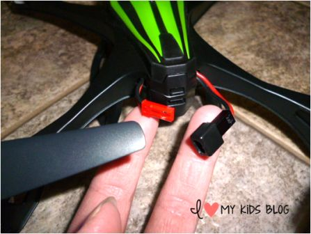 ky Viper Drone plug in for power