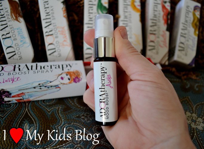 Adoratherapy Gal on the Go Mood Boost Spray Size