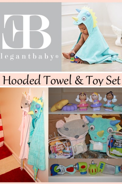 Snuggle Time is Guaranteed with the Elegant Baby Hooded Towel and Toy Set