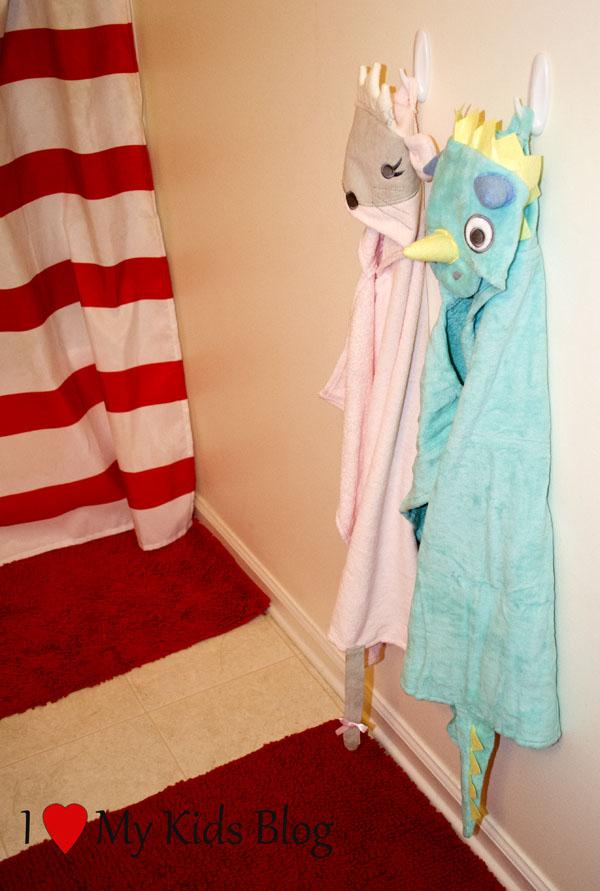 elegant baby hooded towels