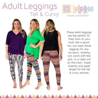 tall and curvy leggings