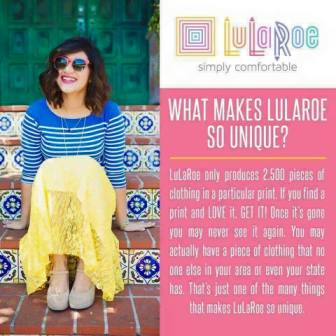 what makes lularoe different