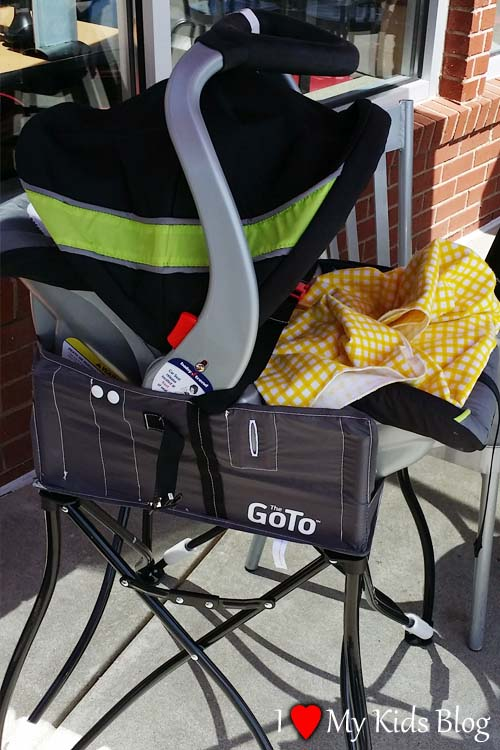 GoTo 2-in-1 car seat holder