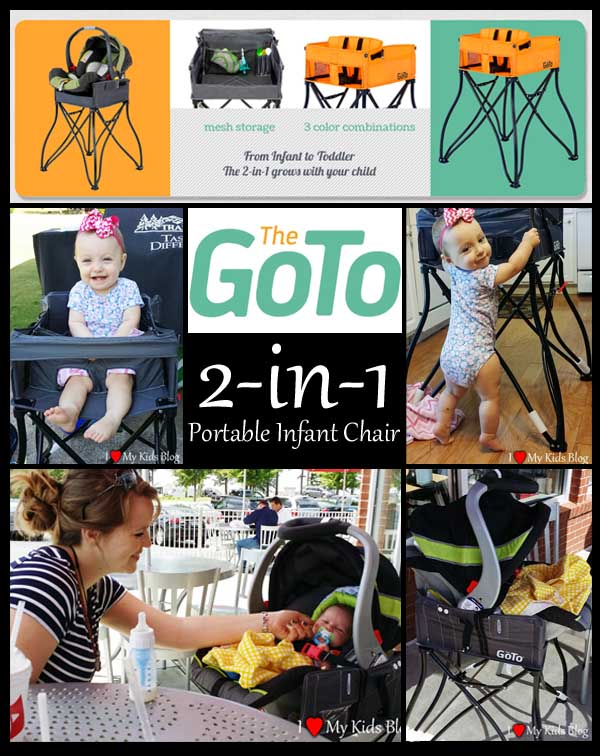The GoTo 2-in-1 Portable Infant Seat