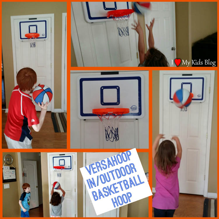 Versahoop indoor or outdoor basketball hoop