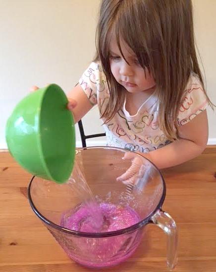 Adding Water