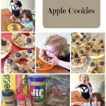 Apple Cookies are an Easy and Healthy After School Snack