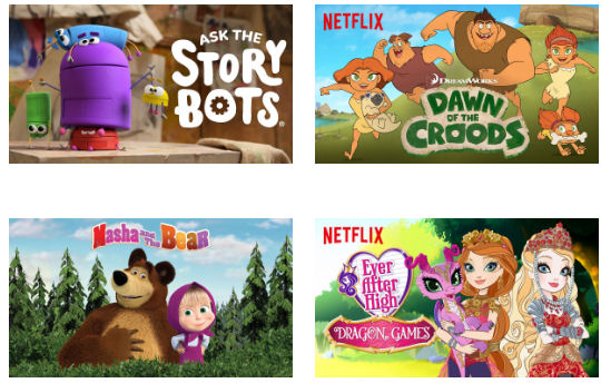 new on netflix August 2016 kids and family