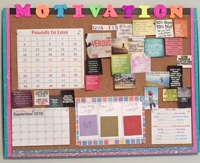 Motivation Board: To Help Get you Through the Tough Days