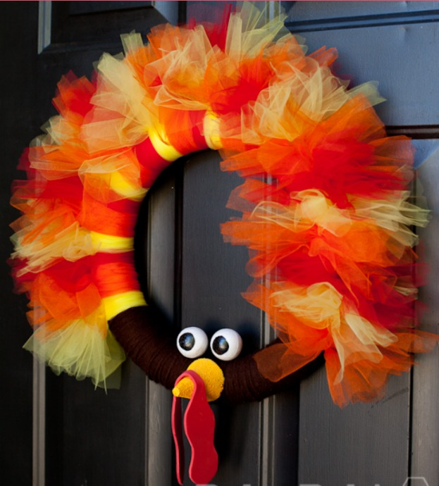 turkey-wreath