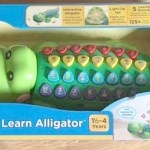 Learning the ABC's with Pull & Learn Alligator from VTech
